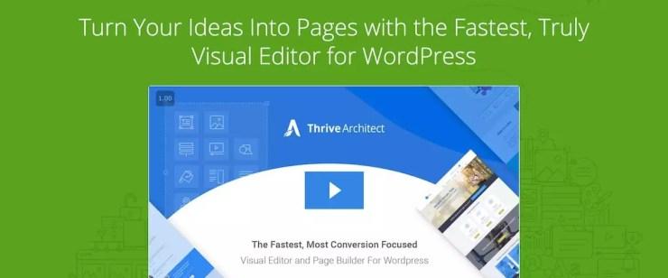 Thrive Architect - The Best WordPress Landing Page Builder