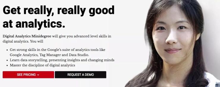 Digital Analytics Degree by CXL Institute