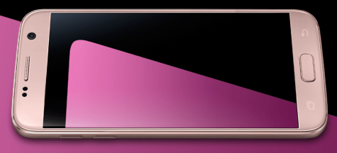 Pink Gold Galaxy S7