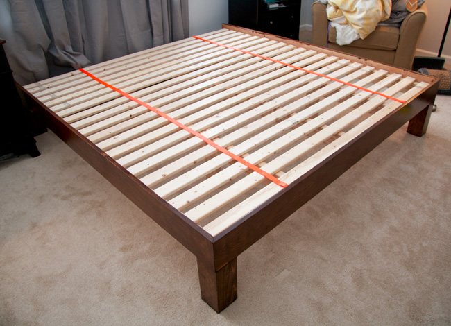 This DIY Platform Enough Support For Latex Bed?