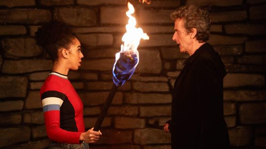 Doctor Who and Bill The Eaters of Light