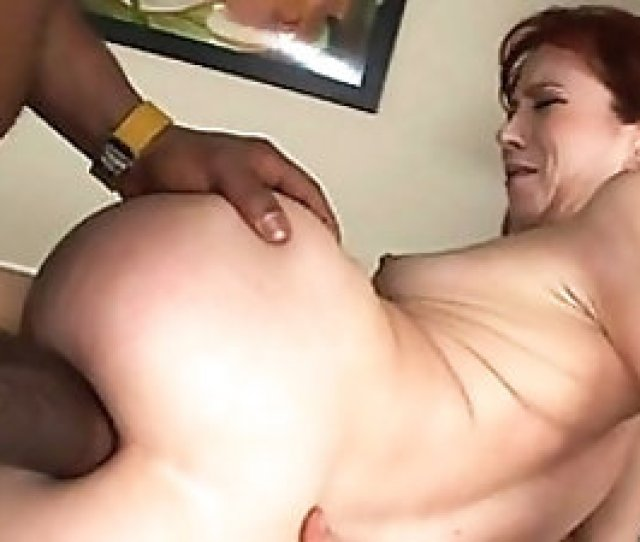 Skinny Mature Redhead Whimpers While Bbc Impales Her Tight Ass