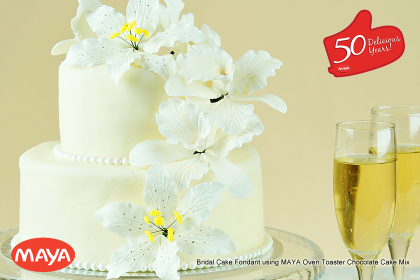 Bridal Cake Fondant