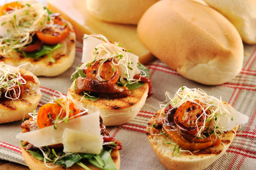 Toasted Pan de Sal Pleasers