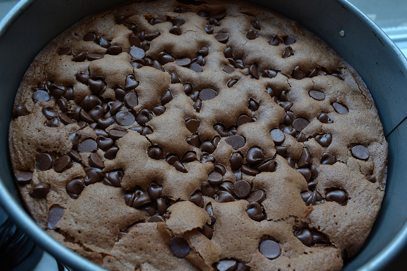 Brownie Souffle Cake
