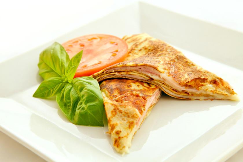 Ham And Cheese Crepes The Maya Kitchen