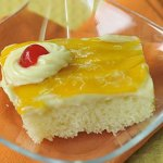 Mango refrigerator cake