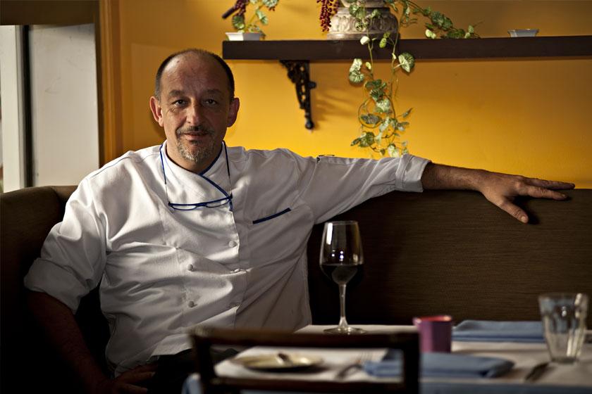 Chef Marc Aubry of Champêtre Restaurant at The Maya Kitchen