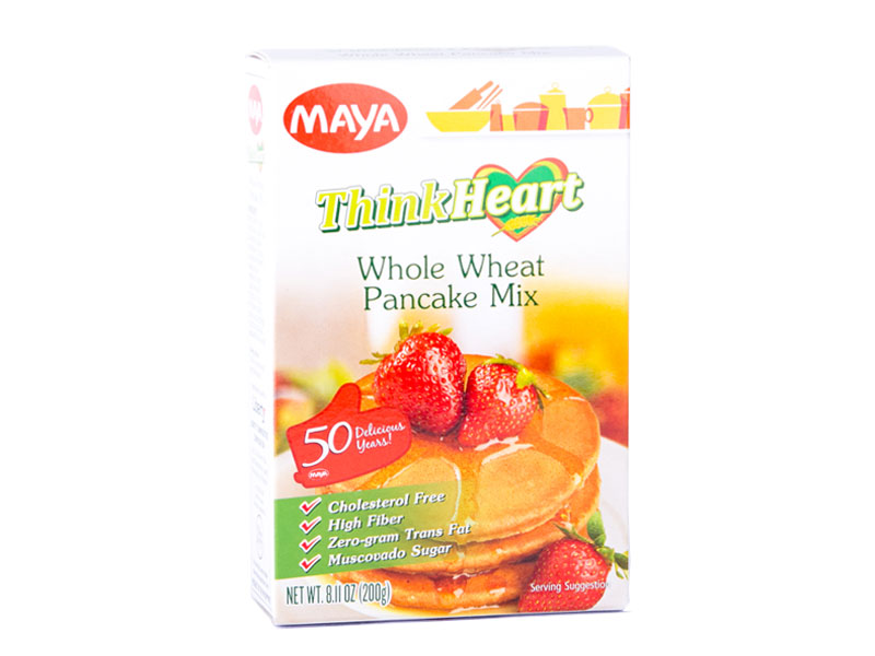 Maya thinkheart pancake mix the maya kitchen maya thinkheart whole wheat pancake mix ccuart Images