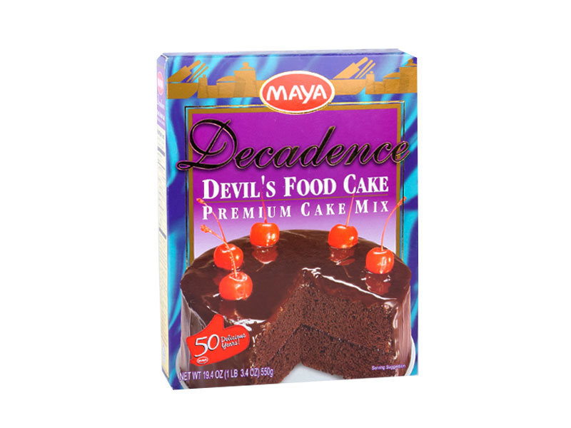 Maya Decadence Devil's Food Cake Premium Mix