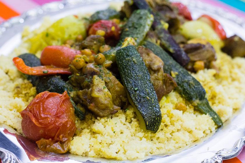 Lamb Couscous with Seven Vegetables