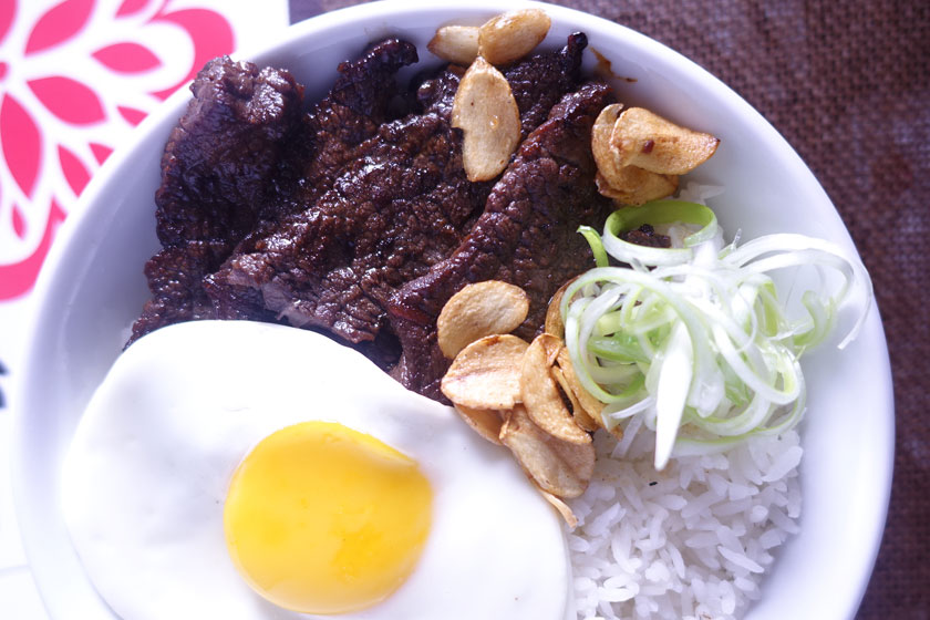 Asian-Style Beef Tapa Rice Bowl