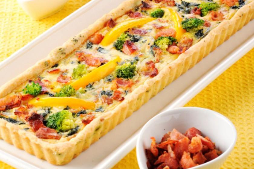 Bacon Broccoli Quiche Recipe