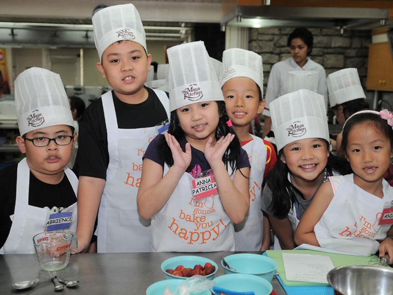 The Maya Kitchen Kids' and Teens' Cooking and Baking Class