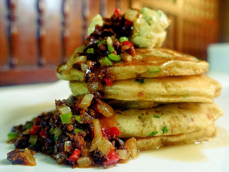 The Maya Kitchen Savory Pancake Recipe