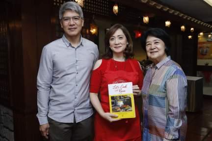 LR Eric Fajardo Nina Daza-Puyat Lourdes Fajardo