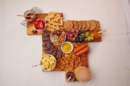 Cocktail Party Hotcake Board