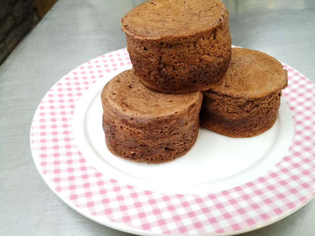Chocolate Hotcake Souffle