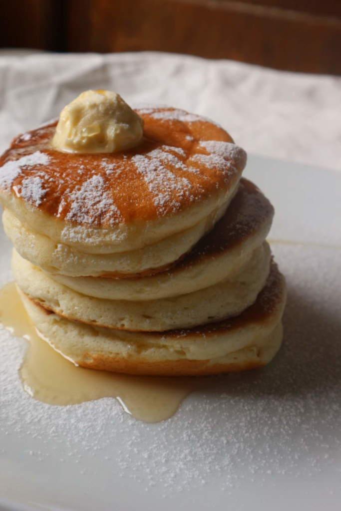 Jiggly Japanese Style Souffle Hotcakes