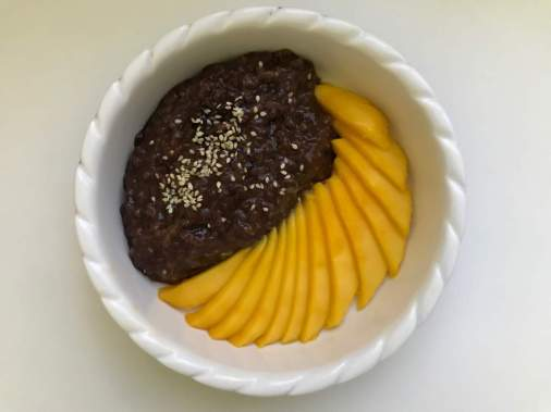 Mango Chocolate Sticky Rice