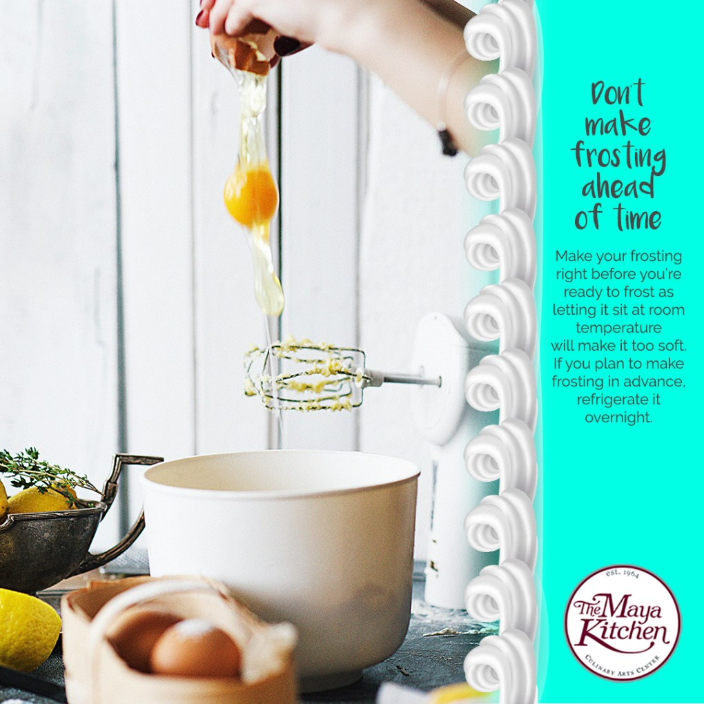 Cake Frosting Tips