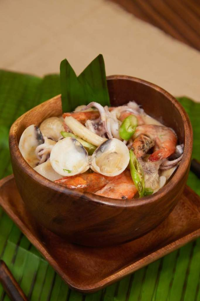 Seafood In Coconut Sauce