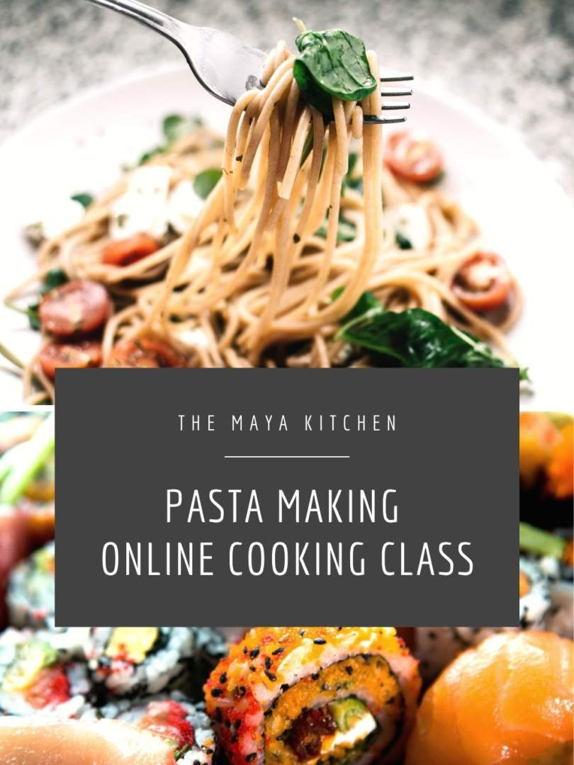 Pasta Making Online Cooking Class