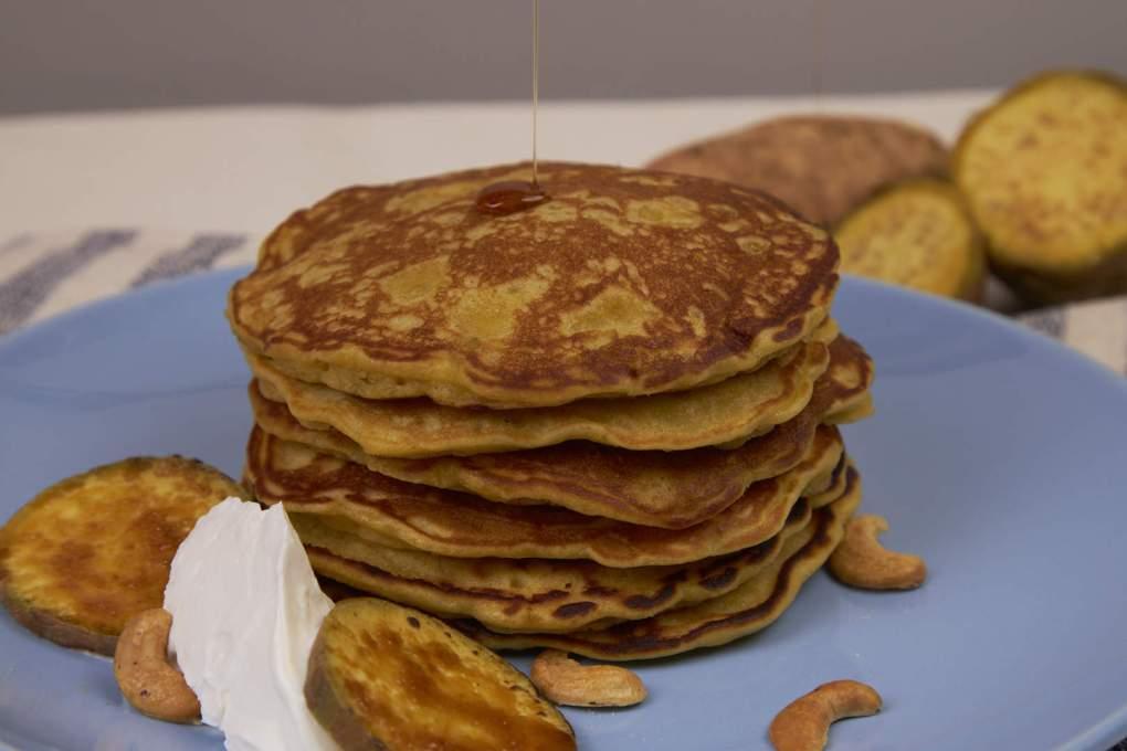 Sweet Potato Pancake