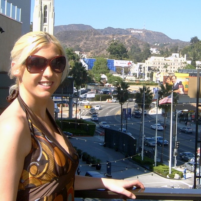 The Mayfairy - Frankie hollywood sign