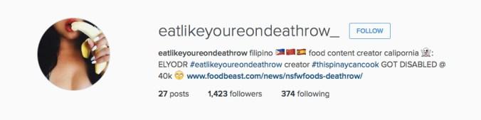 Instagram-EatLikeYoureOnDeathRow