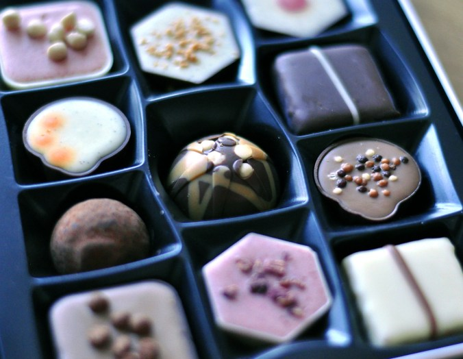 Blogging is like a box of chocolates. Lots of surprise nuts.