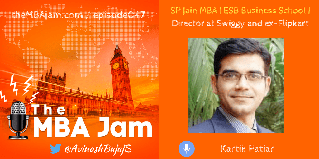 Director at Swiggy and ex-Flipkart – Kartik Patiar – Ep #47
