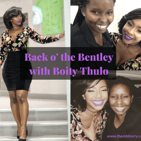 Oh WOW I Met Boity Thulo