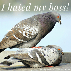 I Hated My Boss
