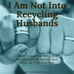 I'm Not Into Recycling Husbands