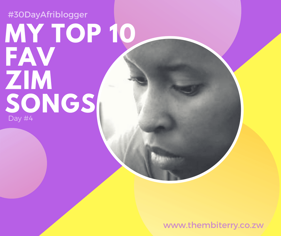 Zimbabwean Blogger Thembi Terry Fav Zim Songs
