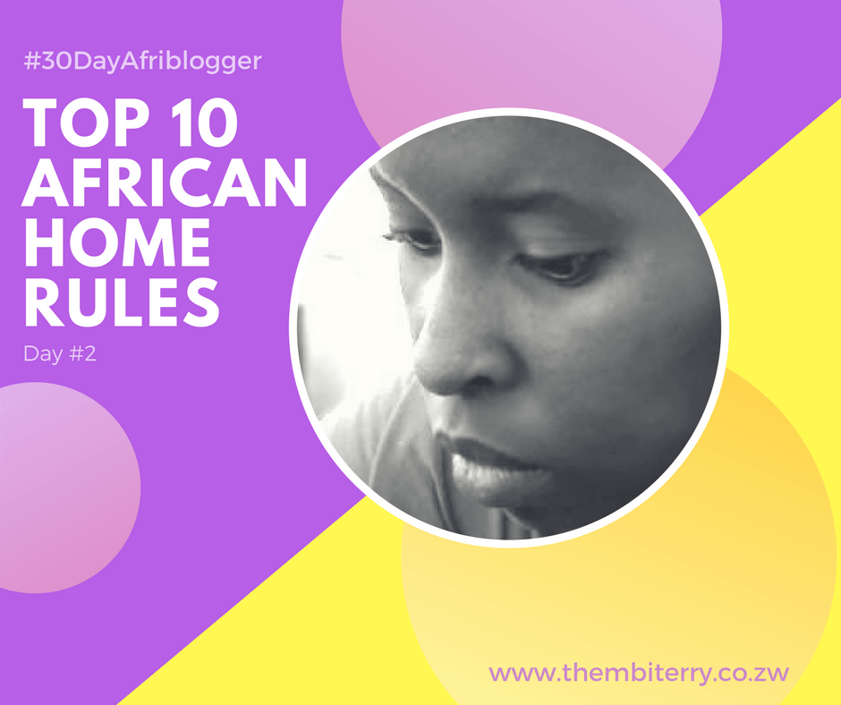 Zimbabwean Blogger Thembi Terry Zulu Rules