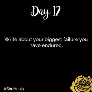 I Failed Me and I Still Fail Me