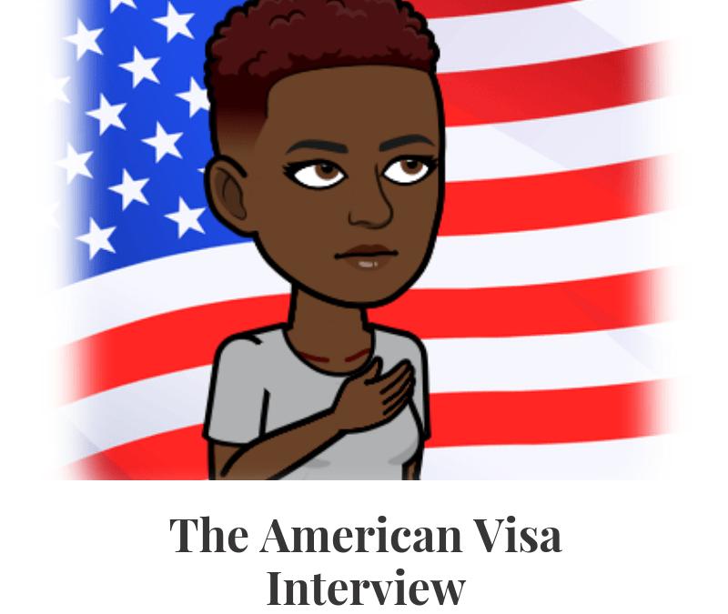 #YALI2019 The American Visa Interview