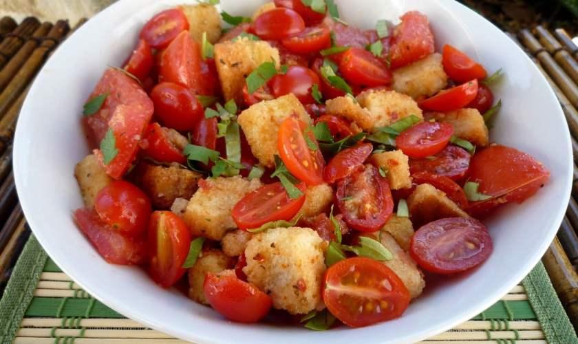 Panzanella, Panmolle, (Tuscan Salad)