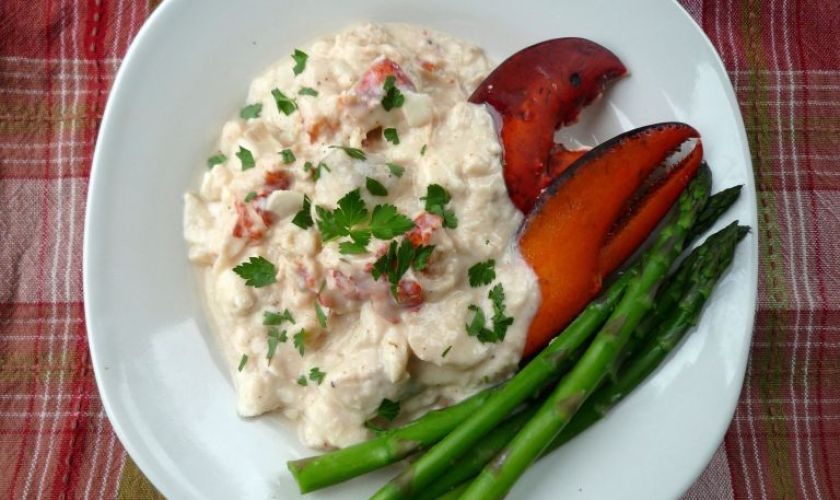 Dublin Lawyer -Lobster with Irish Whiskey Cream Sauce
