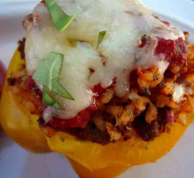 Stuffed #pepper #Recipe_Heidy L. Mccallum 2014