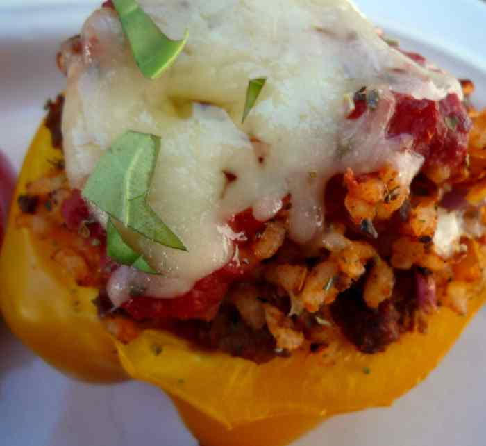 Stuffed #pepper #Recipe_Heidy L. Mccallum 2014