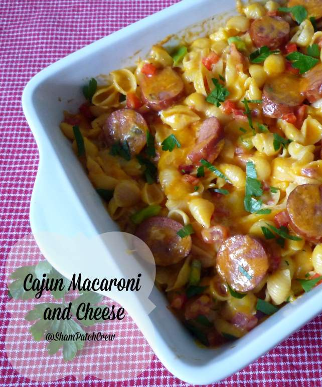 #Cajun #Macaroni and #Cheese