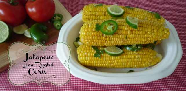 Jalapeno Lime Roasted Corn