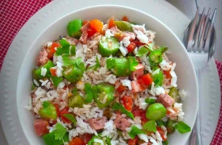 Creole Tomatoes Okra and Rice