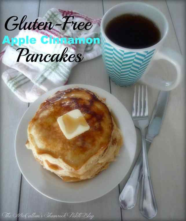 #GlutenFree Apple Cinnamon #Pancakes