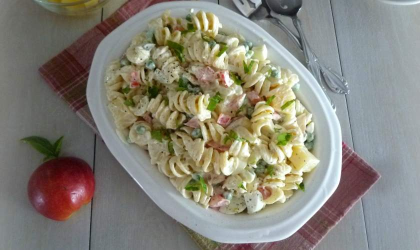 Macaroni Salad with Fruit