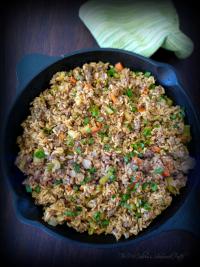 #DirtyRice #Rice #Tony Chachere #Creole