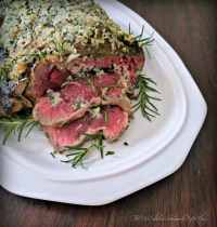 Herb Crusted Ribeye Roast
